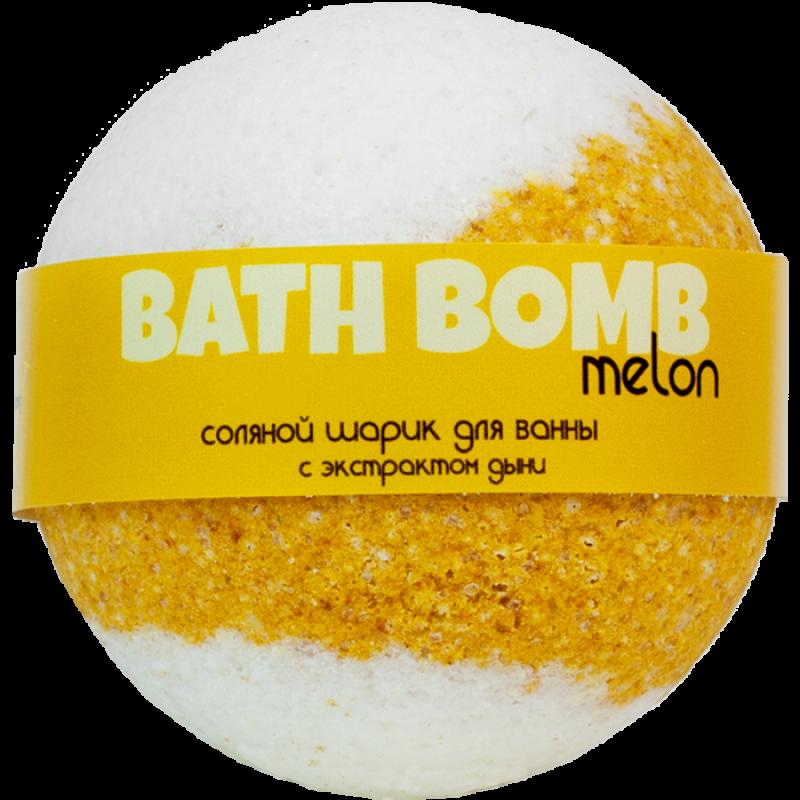 Шарик для ванн MELON (с экстрактом дыни)