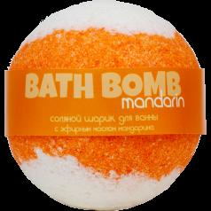 Шарик для ванн MANDARIN (с эфирным маслом мандарина)