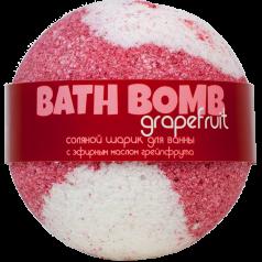 Шарик для ванн GRAPEFRUIT (с эфирным маслом грейпфрута)