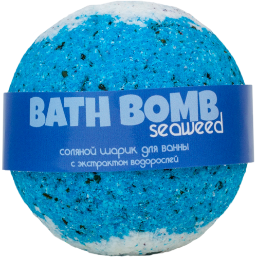 Шарик для ванн SEAWEED (с экстрактом морских водорослей)