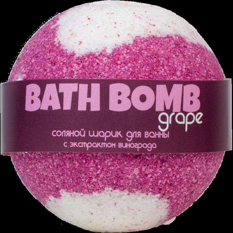 Шарик для ванн GRAPE (с экстрактом винограда)