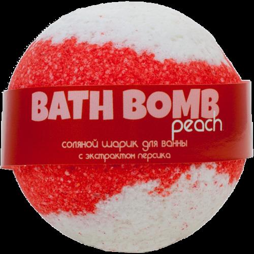 Шарик для ванн PEACH (с экстрактом персика)