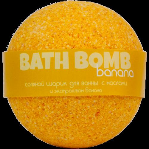 Шарик для ванн BANANA (с маслами и экстрактом банана)