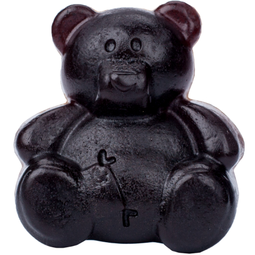 Мыло ручной работы МЕДВЕЖОНОК (аромат шоколада), 100 г