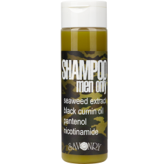 Мужской шампунь MEN ONLY camouflage (с экстрактом морских водорослей и маслом черного тмина)