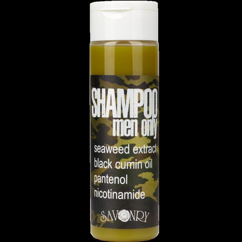 Шампунь MEN ONLY Camouflage (морские водоросли и черный тмин), 200 мл