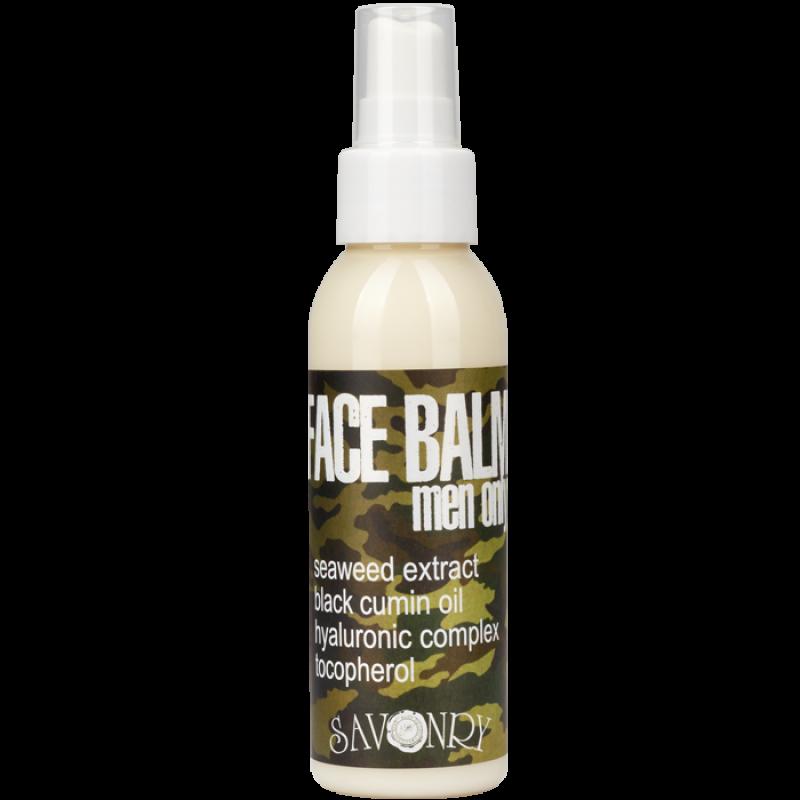 Мужской бальзам для лица  MEN ONLY camouflage (с экстрактом морских водорослей и маслом черного тмина), 100 мл