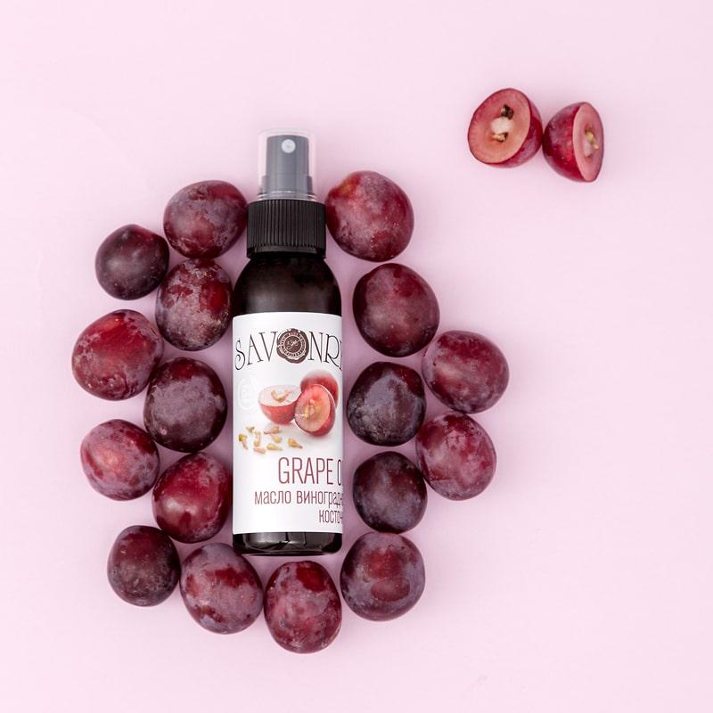 Натуральное масло виноградной косточки 100%, 50мл