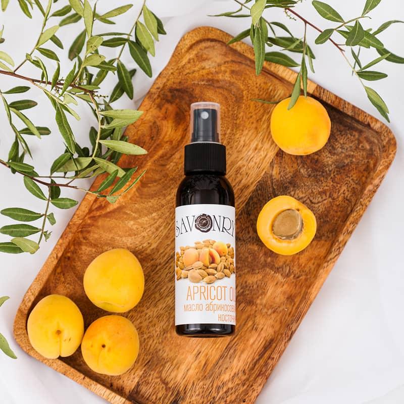Натуральное масло абрикосовой косточки 100%, 50мл