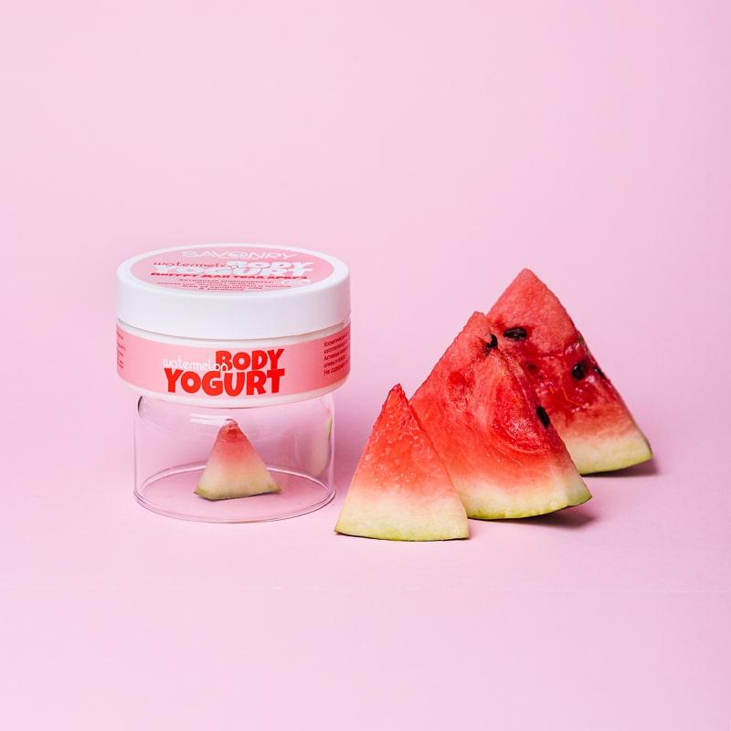 Косметический йогурт WATERMELON (с экстрактом арбуза), 150 г
