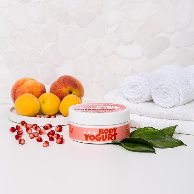 Косметический йогурт FRUIT MIX (с миксом фруктовых экстрактов), 150 г