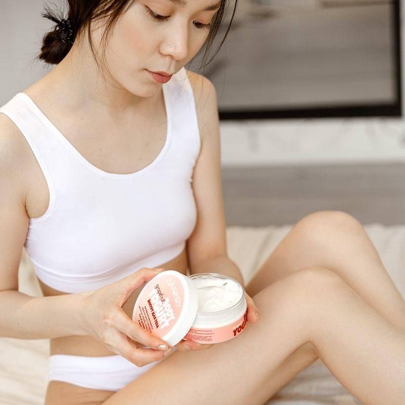 Косметический йогурт GRAPEFRUIT (с эфирным маслом грейпфрута), 150 г