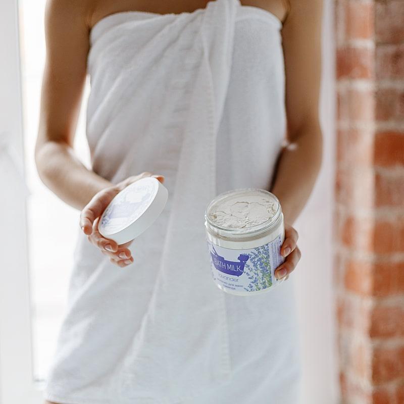 Молочко для ванн ЛАВАНДА, 500мл
