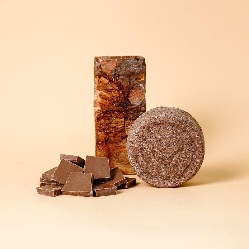 Твердый шампунь CHOCOLATE (объем и сила), 80г