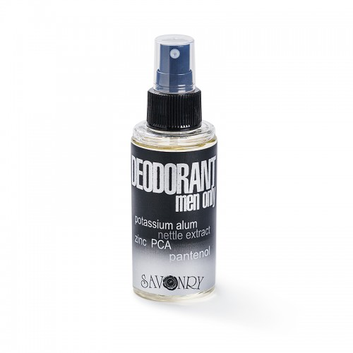 Дезодорант MEN ONLY Black (крапива), 100 мл