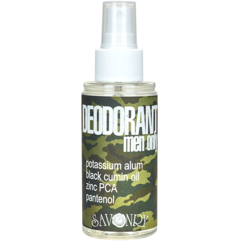 Дезодорант MEN ONLY с маслом черного тмина и экстрактом морских водорослей, 100 мл