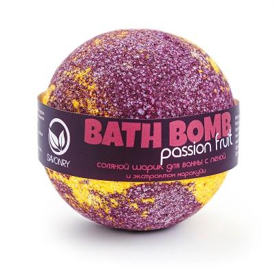 Шарик для ванн PASSION FRUIT (с пеной и экстрактом маракуйи), 145г