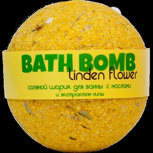 Шарик для ванн LINDEN FLOWER (с маслами и экстрактом липы)