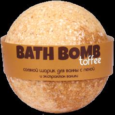 Шарик для ванн TOFFEE (с пеной и экстрактом ванили)
