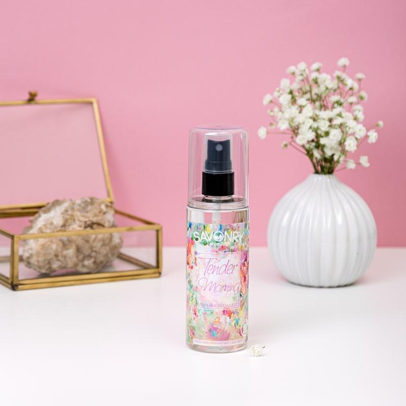 Спрей  для тела, парфюмированный TENDER MORNING (экспресс-увлажнение и тонус), 125мл