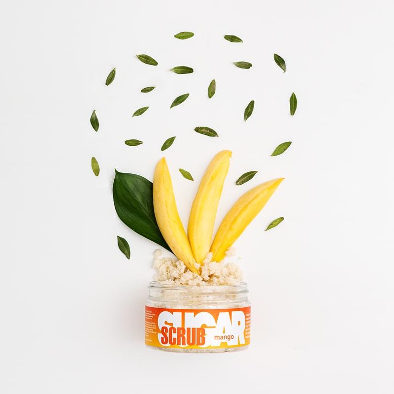 Сахарный скраб для тела MANGO (с экстрактом манго), 300 г