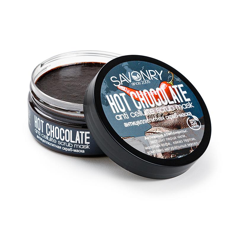 HOT CHOCOLATE (антицеллюлитная скраб-маска), 180 г
