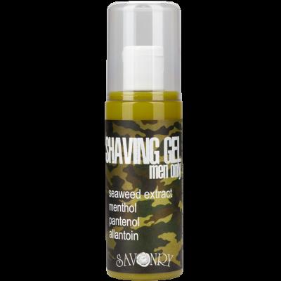 Гель для бритья MEN ONLY Camouflage (морские водоросли), 125 мл